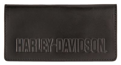WALLET//LEATHER//LONG//BLACK