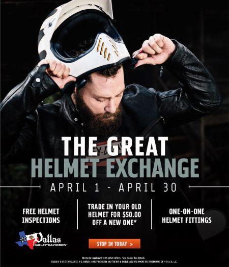 Helmet Exchange Event