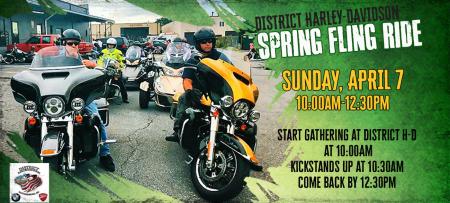 District Spring Fling Ride