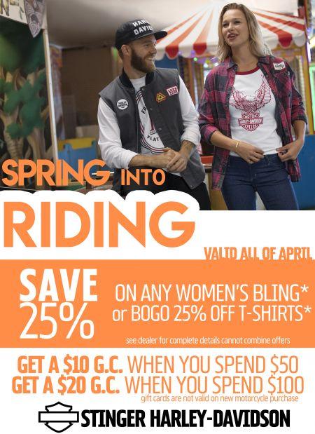 Spring into Riding