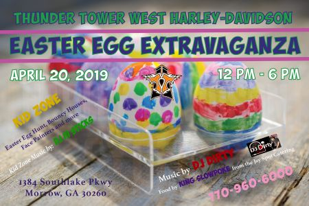 Thunder Tower West Harley-Davidson Easter Egg Extravaganza