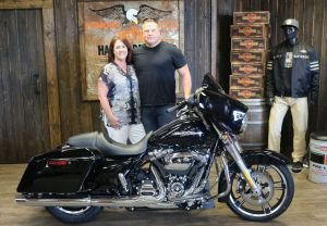 Jeff and Stacys new Street Glide!