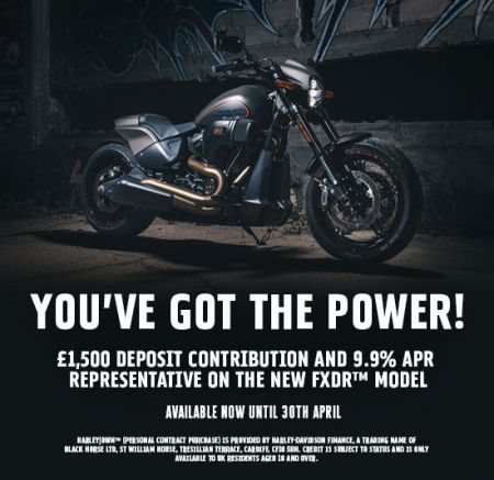 YOU'VE GOT THE POWER - FXDR £1,500 DEPOSIT CONTRIBUTION