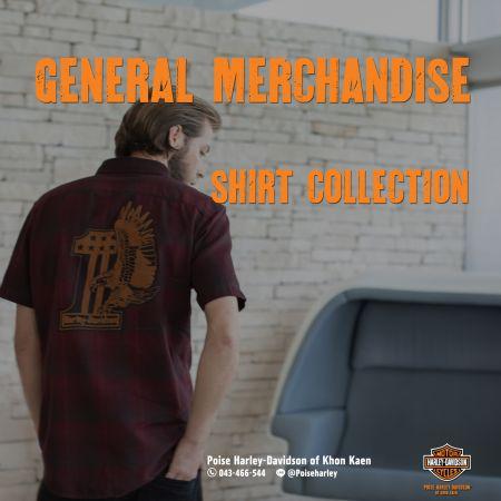 เพียงปลายนิ้วสัมผัส ท่านก็สามารถเป็นเจ้าของ Shirt Collection จาก  Harley-Davidson ได้