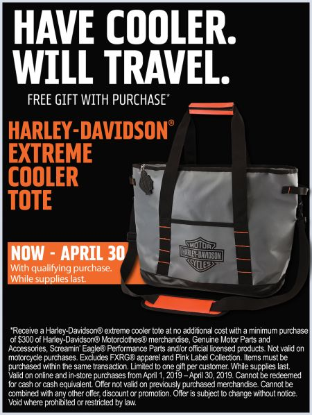 Spring Gift with Purchase - Have Cooler.  Will Travel.