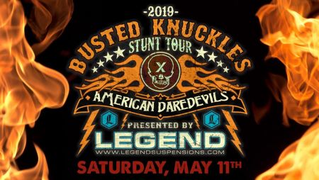 Busted Knuckles Stunt Tour returns!