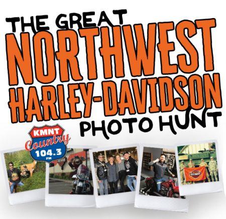 The Great Northwest Harley-Davidson Photo Hunt