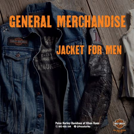 GENERAL MERCHANDISE NEW ARRIVALS  JACKET FOR MEN