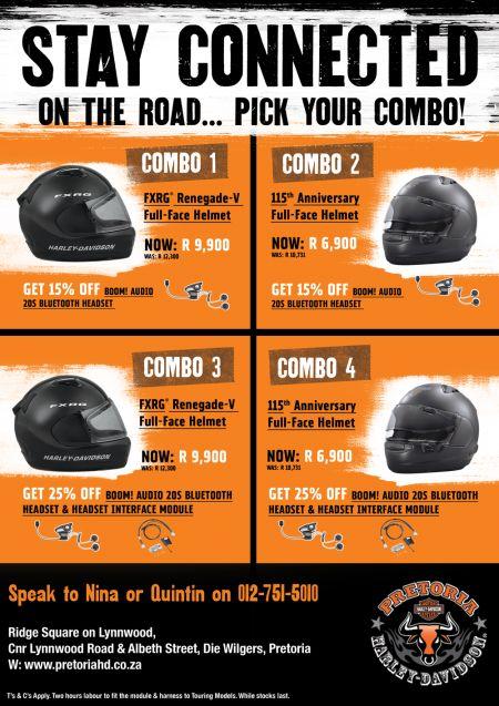 Helmet & Bluetooth Headset Promotion