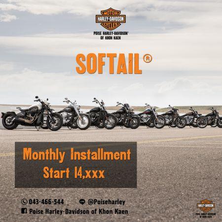 Poise Harley-Davidson of Khon Kaen SOFTAIL® ผ่อนเริ่มต้นที่  14,xxx บาท