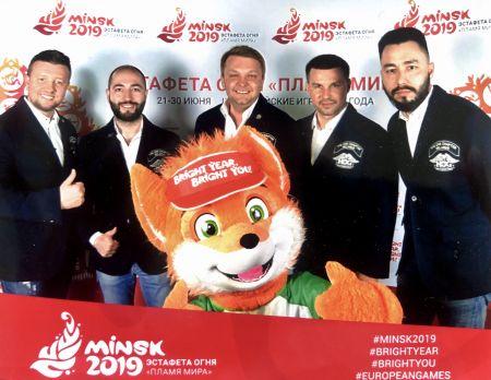 Презентация европейских игр 2019