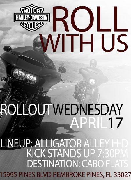 Roll Out Wednesday