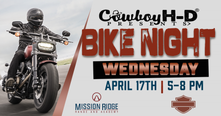 Bike Night at Mission Ridge Range & Academy!