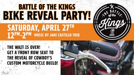 Bike Reveal Party!