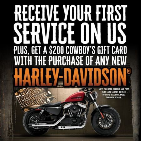 Receive Your First Service on Us!