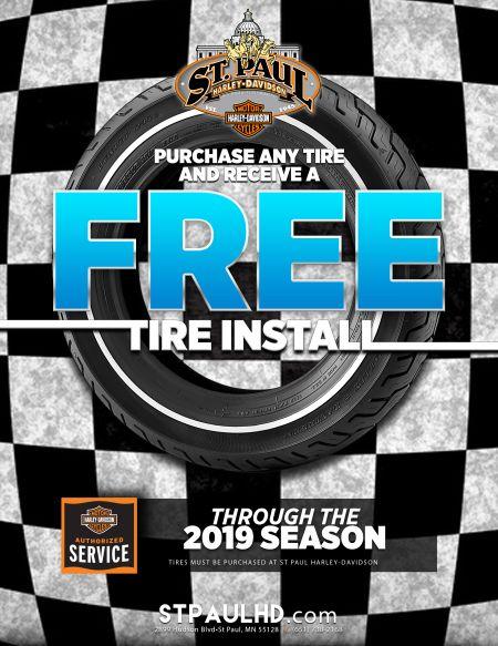 FREE tire install!