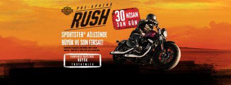Rush Pre-Spring Sportster Kampanyası
