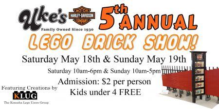 Uke's Harley-Davidson LEGO Brick Show