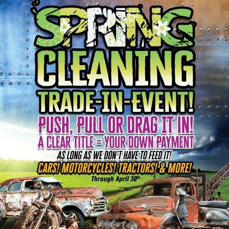 Spring Cleaning Trade-In-Event!