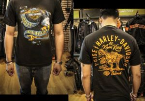 T-shirt Harley-Davidson  Poise Collection