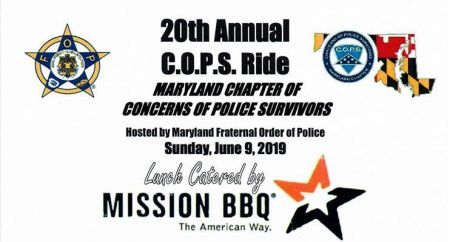 20th Annual COPS Ride