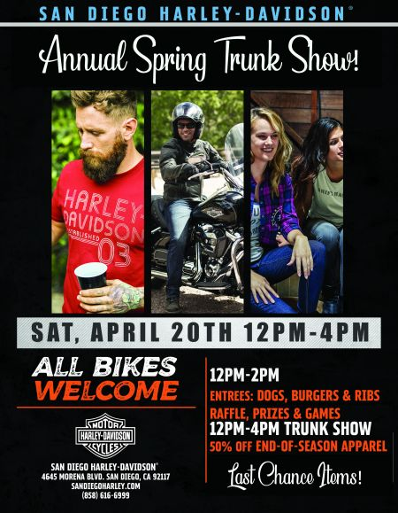 Annual Spring Trunk Show!