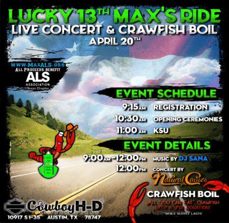 Max's ALS Ride