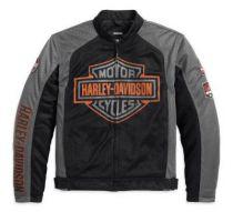 Harley-Davidson® Men's Bar & Shield Logo Mesh Jacket