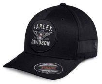 HARLEY-DAVIDSON® - Winged Logo Stretch Fit Cap