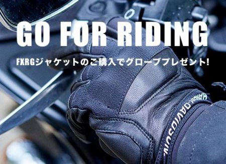 GO FOR RIDING