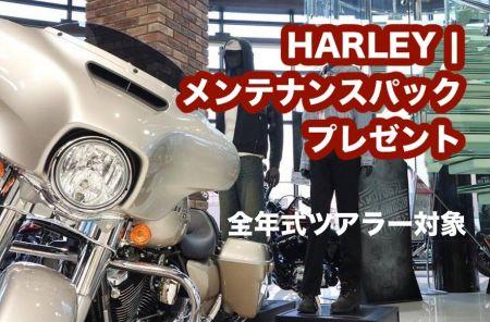 HARLEY   メンテナンスパック プレゼント