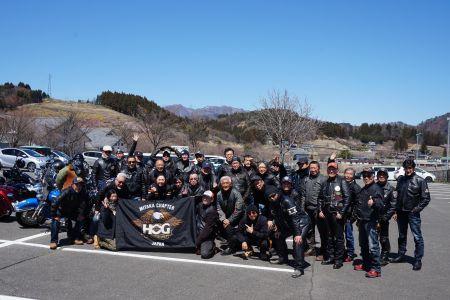 群馬/榛名山・妙義山ツーリング2019.4 ハーレーダビッドソン三鷹チャプター