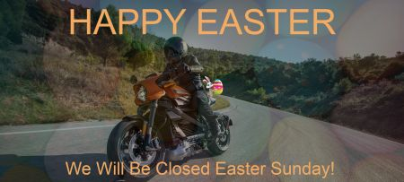 CLOSED EASTER SUNDAY!