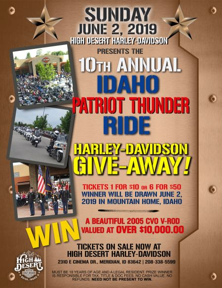 Idaho Patriot Thunder Ride