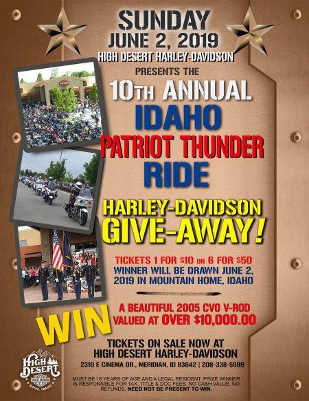 Idaho Patriot Thunder Ride
