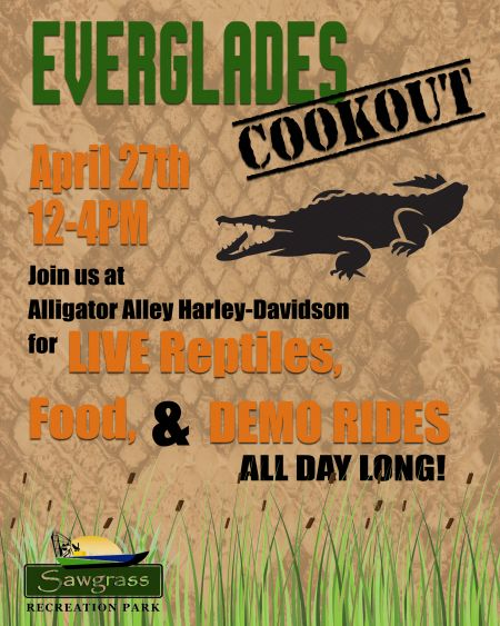 Everglades Cookout & Open House