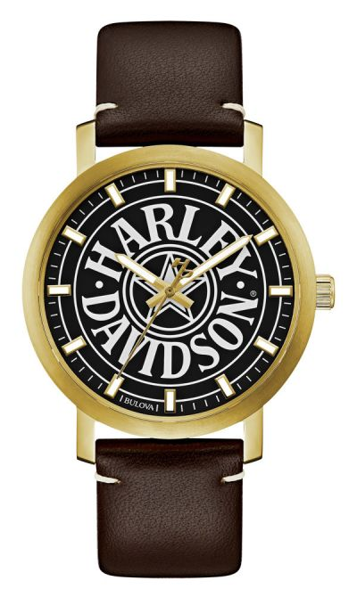 WATCH MENS ICONIC FATBOY GOLD
