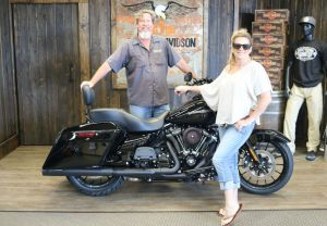Kirk and Maries new Road Glide Special!
