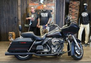 Joseph and Shannons new Road Glide Custom!