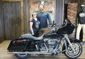 Fred and Marthas new Road Glide!