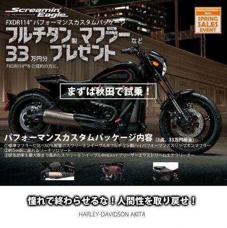 FXDR114限定・カスタムパッケージ