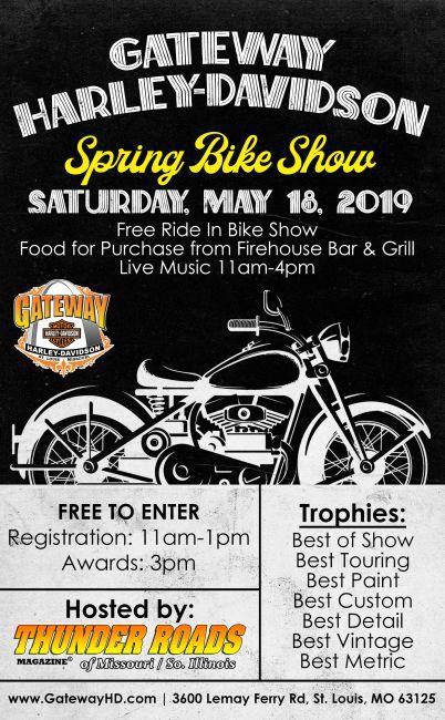 Ride In Bike Show