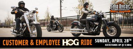 Customer, Employee and HOG Ride!