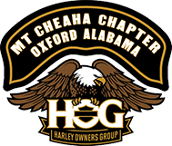 HOG Chapter ride to Warm Springs, GA