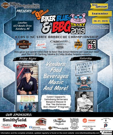 9th Annual Biker, Blues and BBQ Rally and BBQ Classic