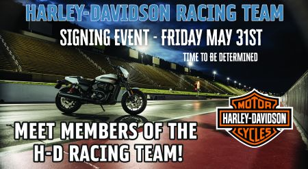 H-D Racing Team Signing Event