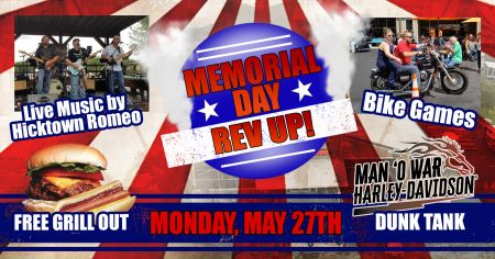 Memorial Day Rev Up!
