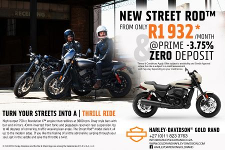 TURN YOUR STREETS INTO A | THRILL RIDE | Harley-Davidson® Gold Rand