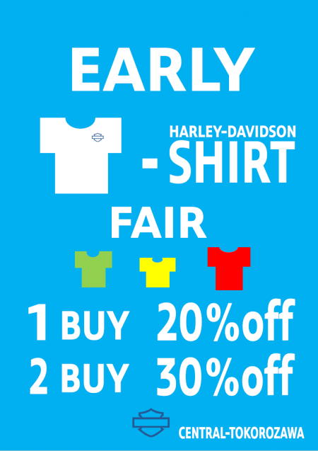 EARLY T-SHIRT FAIR !!
