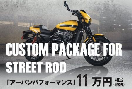 CUSTOM PACKAGE FOR STREET ROD
